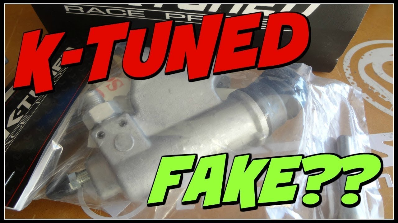 K-TUNED SLAVE CYLINDER UPDATE - AUTHENTIC???