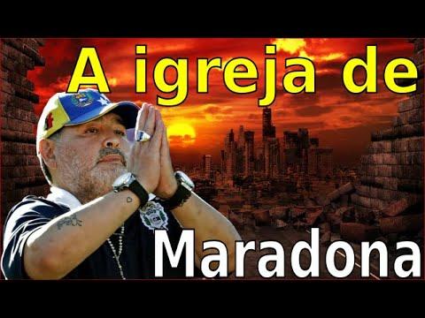 A IGREJA DE MARADONA E O FIM DOS TEMPOS