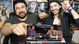 IGN VS. NERDIST - Movie Trivia Team SCHMOEDOWN REACTION!!!