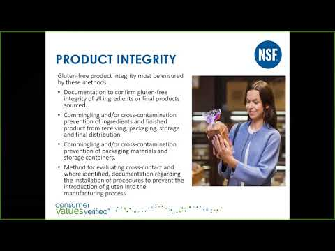 Quick Guide to NSF Gluten-Free Certification