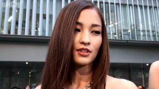 第24回東京国際映画祭/黒木メイサさんへ直撃取材 黒木メイサ 動画 14