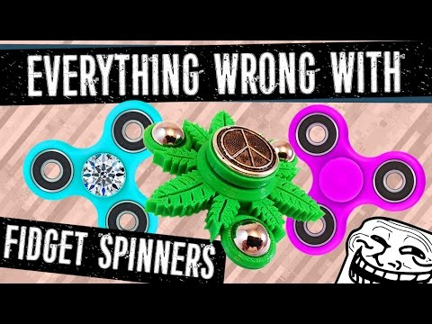 Everything WRONG with Fidget Spinners! (TOP SUPER RARE TRICKS) - Philip Green