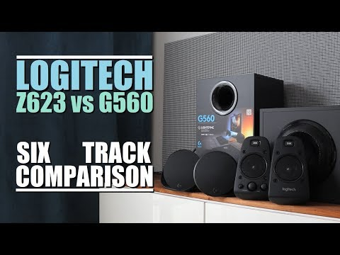 Logitech G560 vs Logitech Z623 || 6-Track Comparison - YouTube