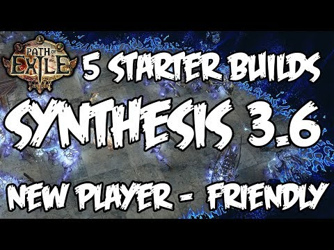 5 Builds for Synthesis League 3.6 - Great for new players!