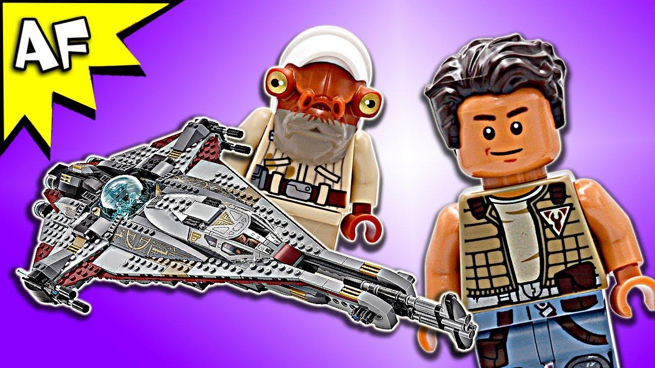 Lego Star Wars Freemaker The Arrowhead 75186 Speed Build Youtube Starwars