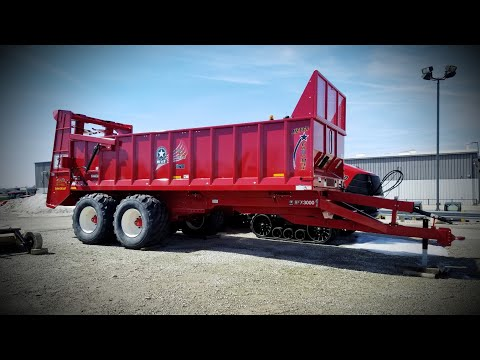 High Capacity Manure Hauler