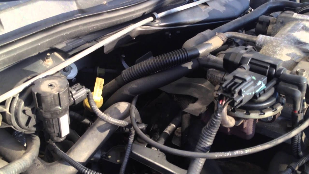 Crown vic intake manifold coolant leak
