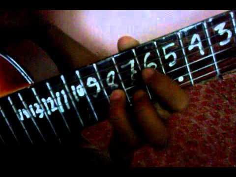 Belajar intro dan melodi cinta segi tiga mudah