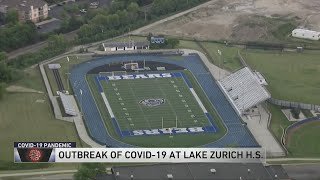 36 students from Lake Zurich High School test positive for COVID-19