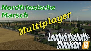 LS19 #11 #Multiplayer #Tiere #Nordfriesische Marsch #mod map #Facecam #Webcam #deutsch