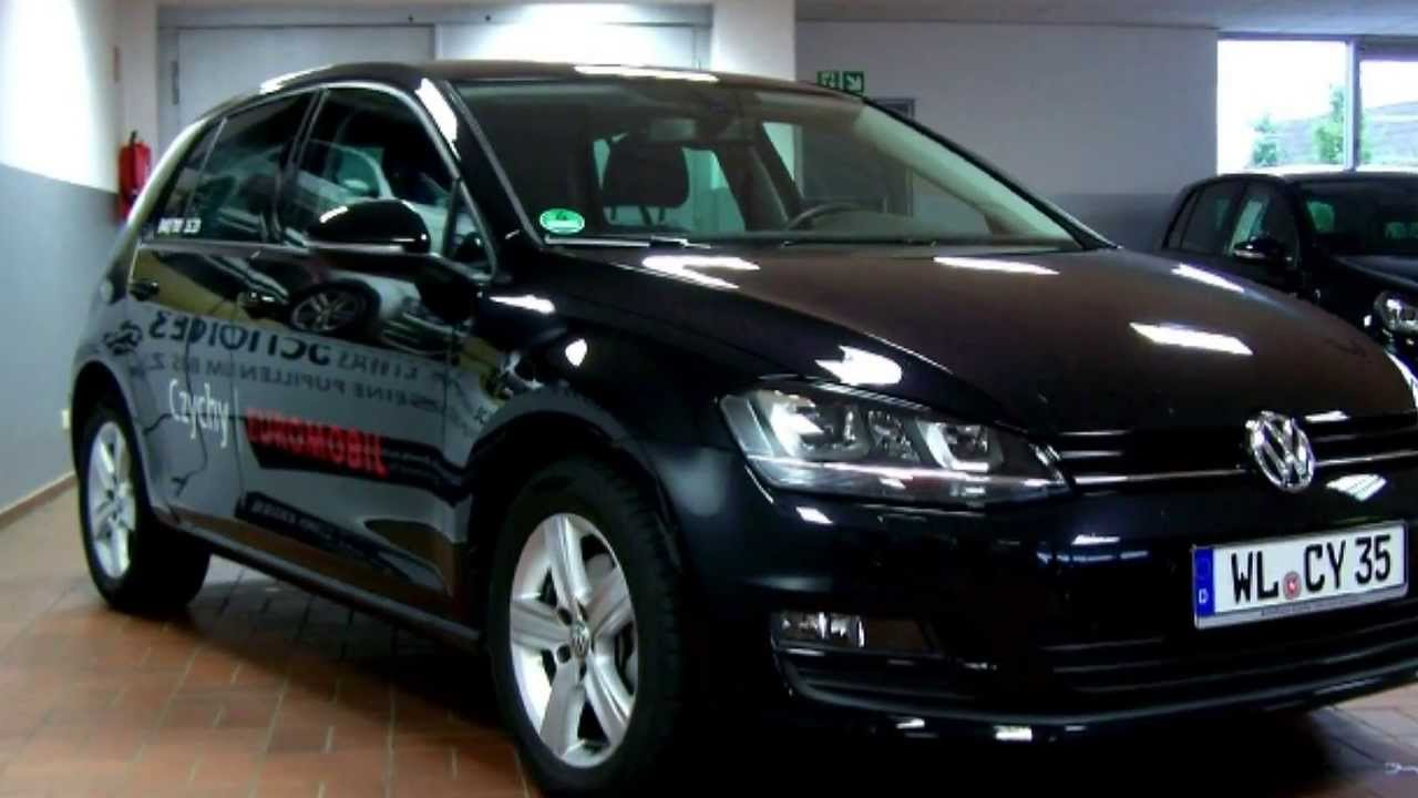 volkswagen golf vii 1 6 tdi comfortline 4motion dw138378 autohaus czychy youtube. Black Bedroom Furniture Sets. Home Design Ideas