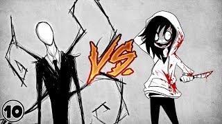 Slender Man vs Jeff The Killer