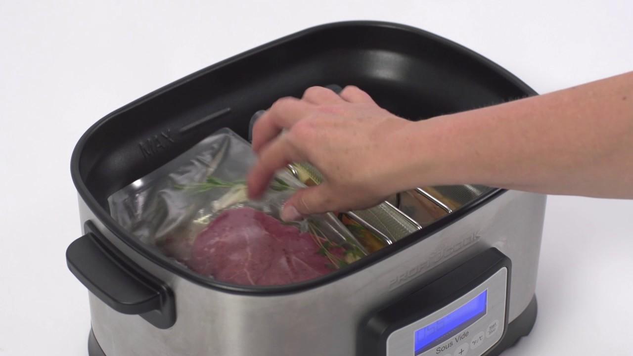 Urządzenie Do Gotowania Sous Vide Proficook Pc Sv 1112 Youtube
