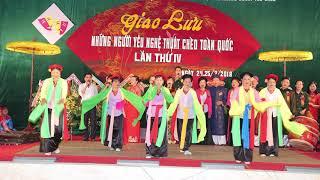Hát chèo DƯƠNG XUÂN TB: An Nguyên Minh Nguyệt, Hoa Anh Đào