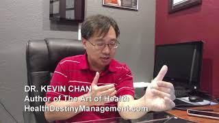 Dr. Kevin Chan: The Art of Health Book: Stages of Health Situations