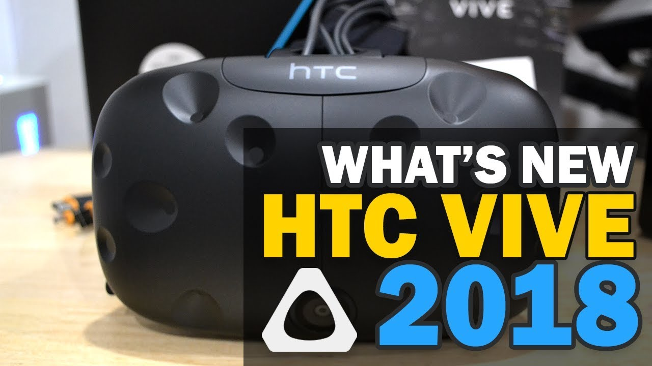 Unboxing HTC Vive - What's new in 2018 version