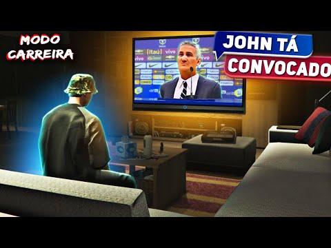 FUI CONVOCADO PRA SELEÇÃO E ASSISTI PELA TV ⚡⚽ VIDA DE JOGADOR #25 - FIFA 20