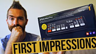 Replacing My Elgato Camlink With A Blackmagic Atem Mini Pro First Impressions Youtube