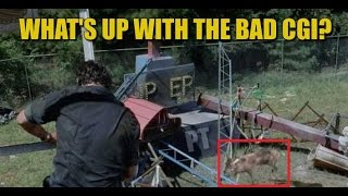 The Walking Dead Season 7 Discussion What's Up With The Bad CGI?