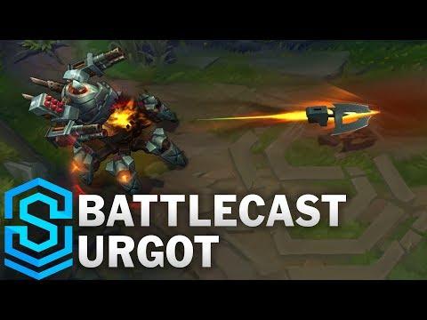 Battlecast Urgot (2017) Skin Spotlight - Pre-Release - League of Legends