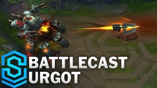 Battlecast Urgot (2017) Skin Spotlight - Pre-Release - League of Legends thumbnail