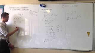 Differentiating Logarithmic Functions