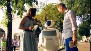 Promobot на первом канале