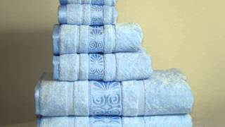 High thread count egyptian cotton bed sheets & Egyptian Cotton Bath Towels  at www.Anippe.com