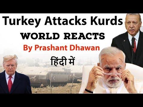 Turkey Attacks Kurds