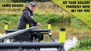 *** Coarse & Match Fishing TV *** Jamie Hughes - How to set your pole rollers