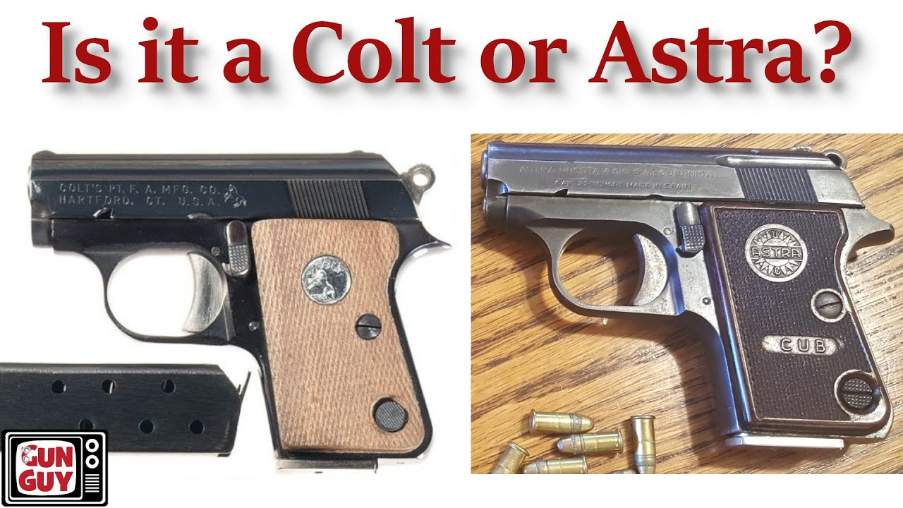 Is it a Colt Junior or an Astra Cub?