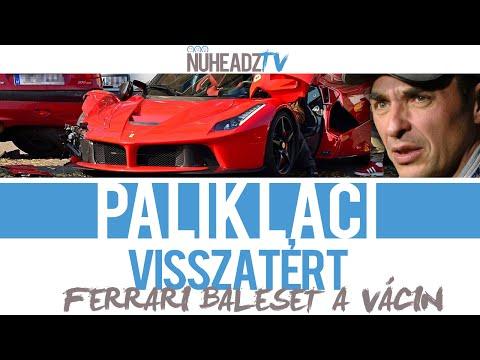 Összetört Ferrari a Váci úton - Palik László kommentárjával   NuHeadzTV