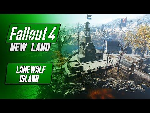 Large Artillery Island! - NEW LAND/SETTLEMENT - LoneWolf - Fallout 4 Mods - Military Settlement