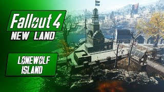 Large Artillery Island - NEW LAND SETTLEMENT - LoneWolf - Fallout 4 Mods - Military Settlement