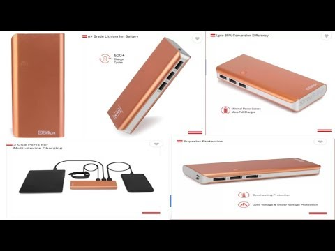 Billion 10000 mAh Power Bank PB129 Made in India Copper Lithium-ion Budget Power Bank