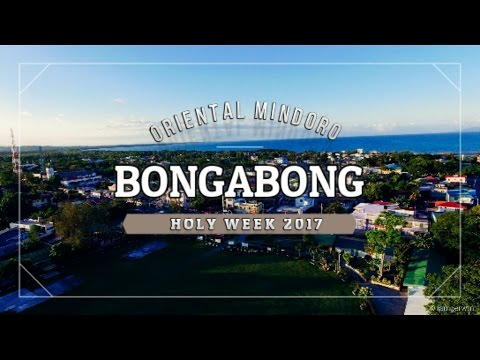 Bongabong Mindoro Holy Week Drone St Joseph & Moriones Festival 2017