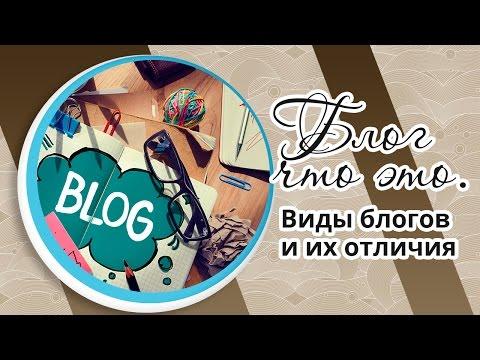 Блог что это. Виды блогов и их отличия