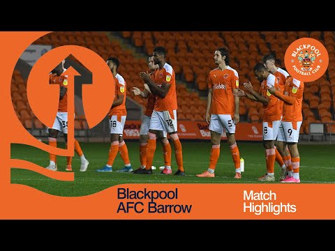 Blackpool Barrow Goals And Highlights