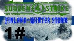 SUDDEN STRIKE 4 Winter Storm Finnland drei Sterne Schlacht von Suomussalmi