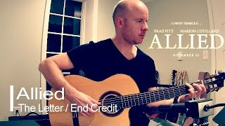 Allied: closing theme for guitar + TAB