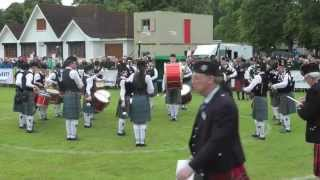 2014 European Pipe Band Championships  Boghall & Bathgate Juvenile Pipe Band