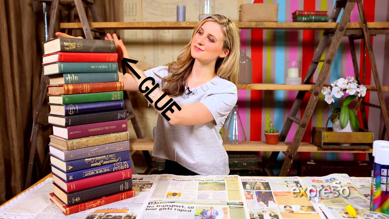 how to make a book table diy with matanna youtube