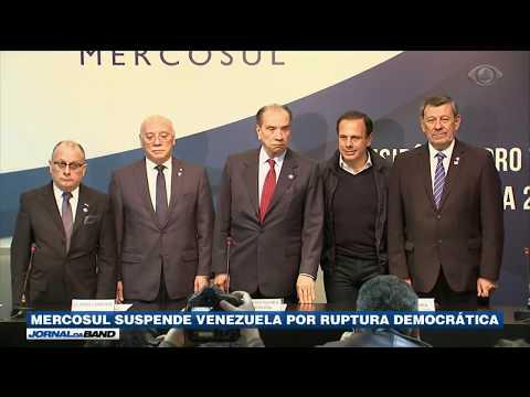 Mercosul Suspende Venezuela Por Ruptura Democrática