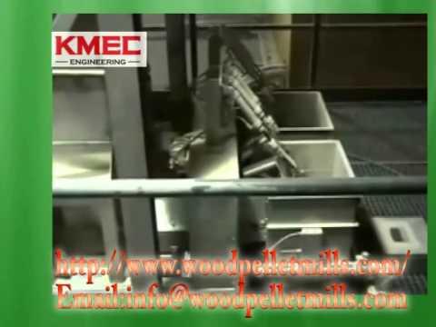 How is the KMEC Wood Pellet Plant Work