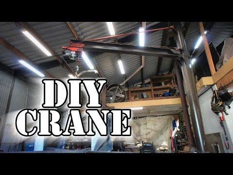 Tour Of My DIY 1 Ton Jib Crane