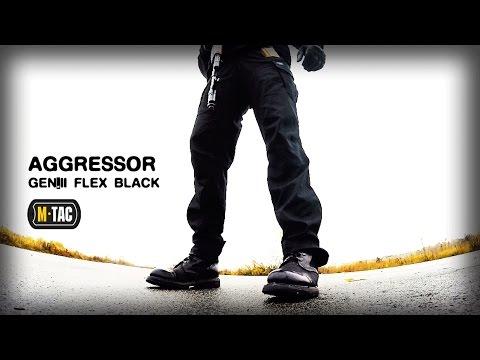 видео: Универсальные БРЮКИ aggressor gen.ii flex black от бренда М-Тас