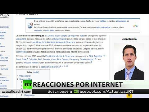 Venezuela se convierte en la tendencia más popular en Twitter tras autoproclamación de Juan Guaidó