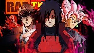 Rap: Eu Sou Um Deus (Madara, Kira, Goku Black..........) // Purificando Almas // TK RAPS