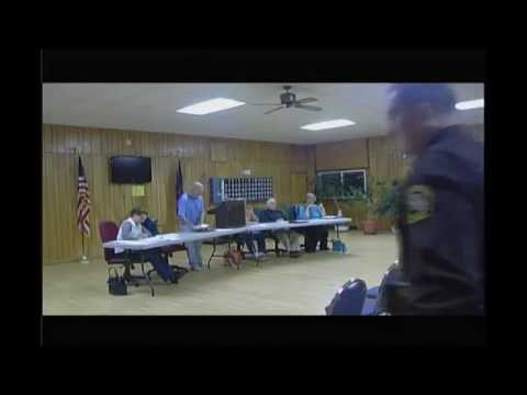 Lincoln Township Meeting 10/13/2014