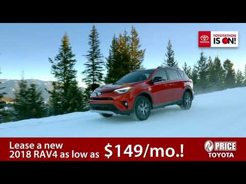 Lease a Toyota RAV4 as low as $149/mo. at Price Toyota